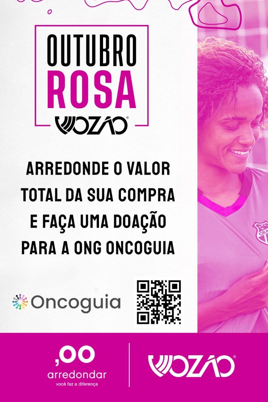parceria Vazão e Arredondar no Outubro Rosa